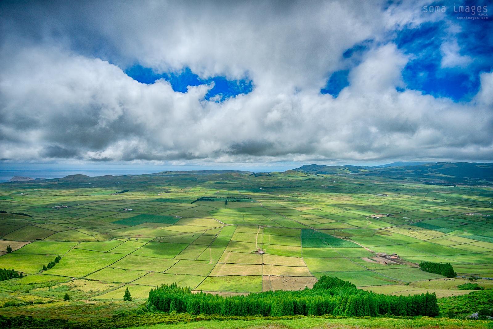 Serra de Cume, Terceira Island, Azores, Portugal