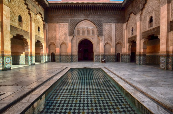 Bahia Palace - courtyard