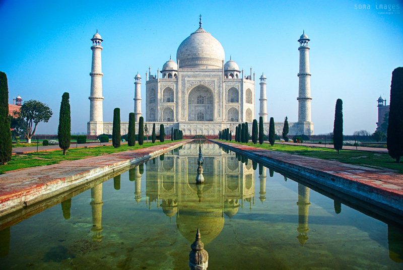 Taj-Majal-reflection-agra-india